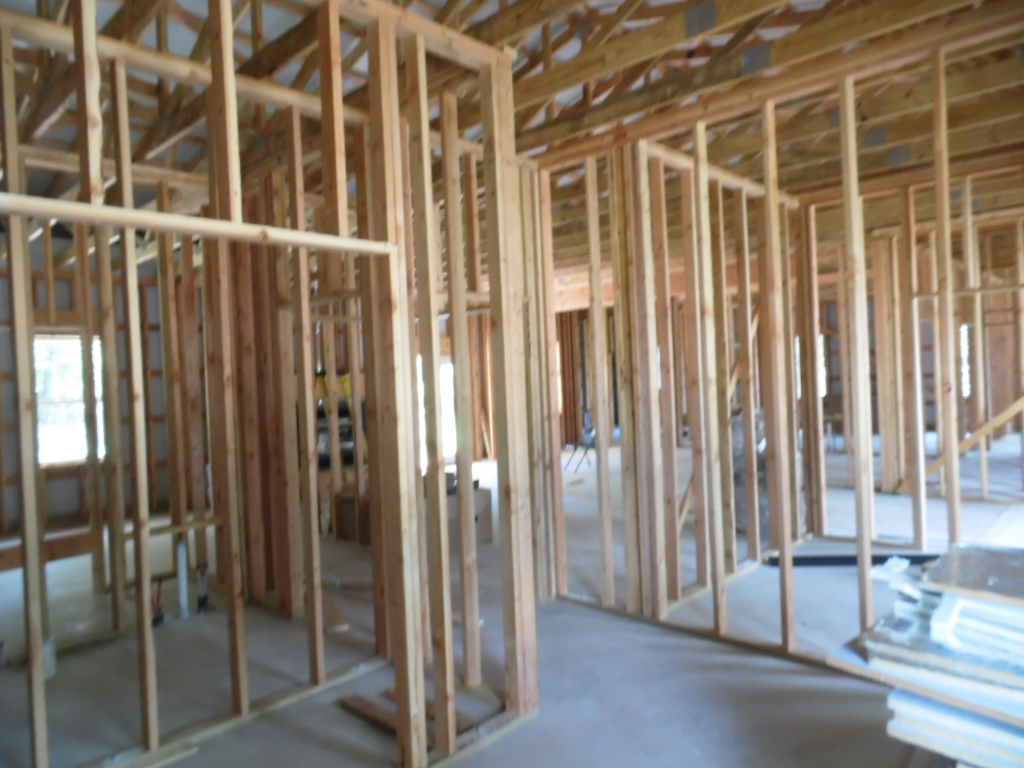 Interior Stud Wall Framing for AMKO Metal Building Houses